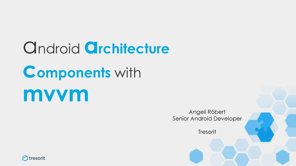 android architecture components with mvvm - ppt download