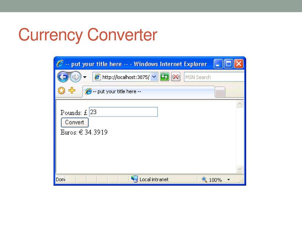 Web Services CO ppt download
