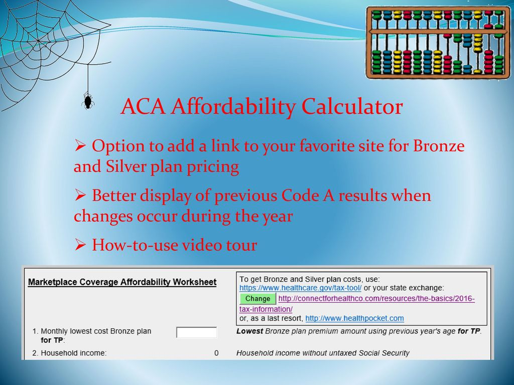 CO Resource web site and calculator - ppt download