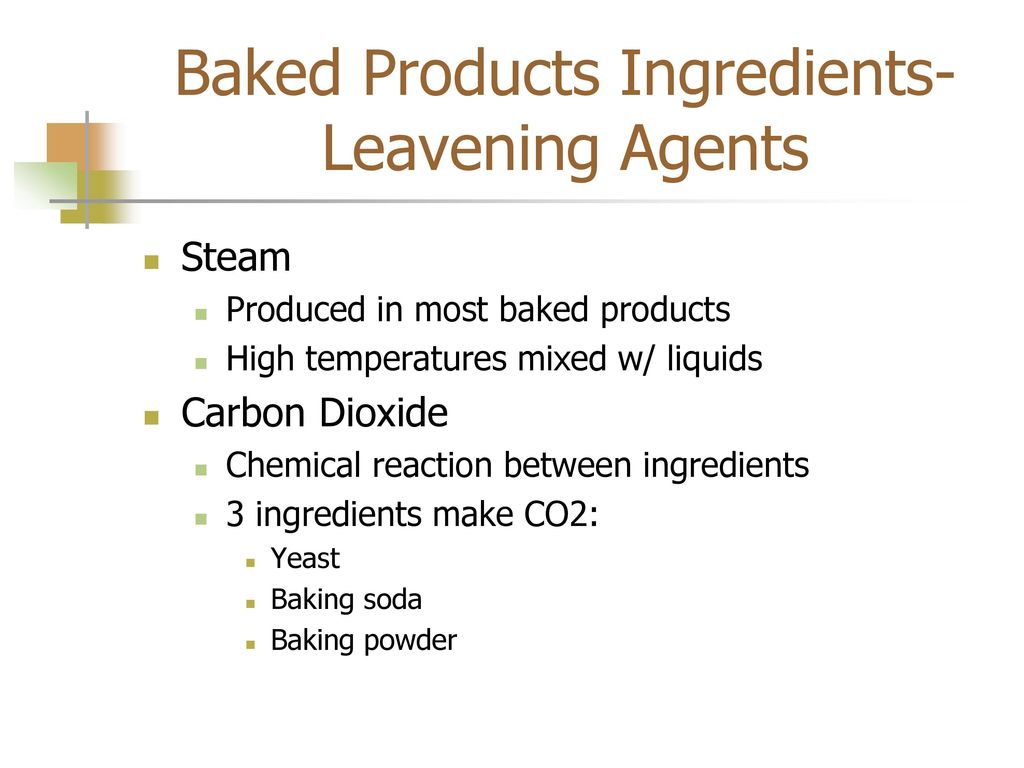 Baked Products Mixing Methods ppt download