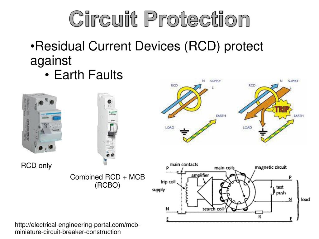Repair Faults In Low Voltage Electrical Apparatus And Circuits Ppt Damaged Miniature Circuit Breakers Due To The Bad Contacts Or Device 39 Protection Residual Current Devices