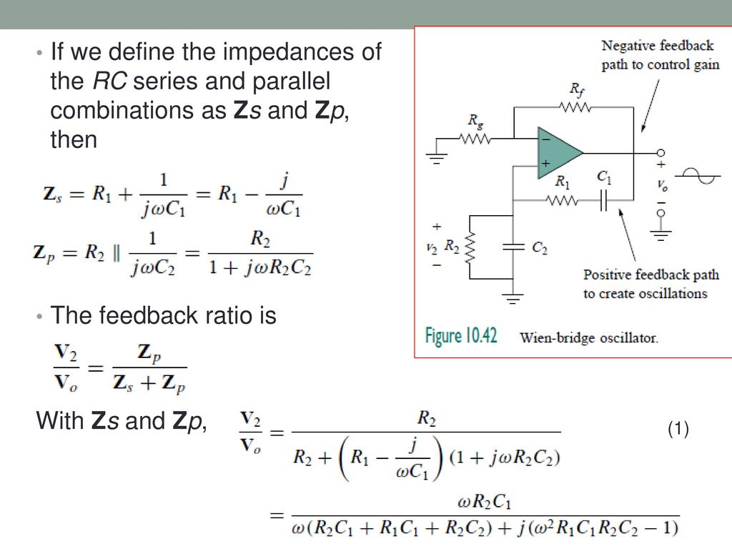36 Thevenin And Norton Equivalent Circuits Ppt Download Of The Op Circuit Is On Impedance Rc Series Diagram If We Define Impedances Parallel Combinations As Zs Zp