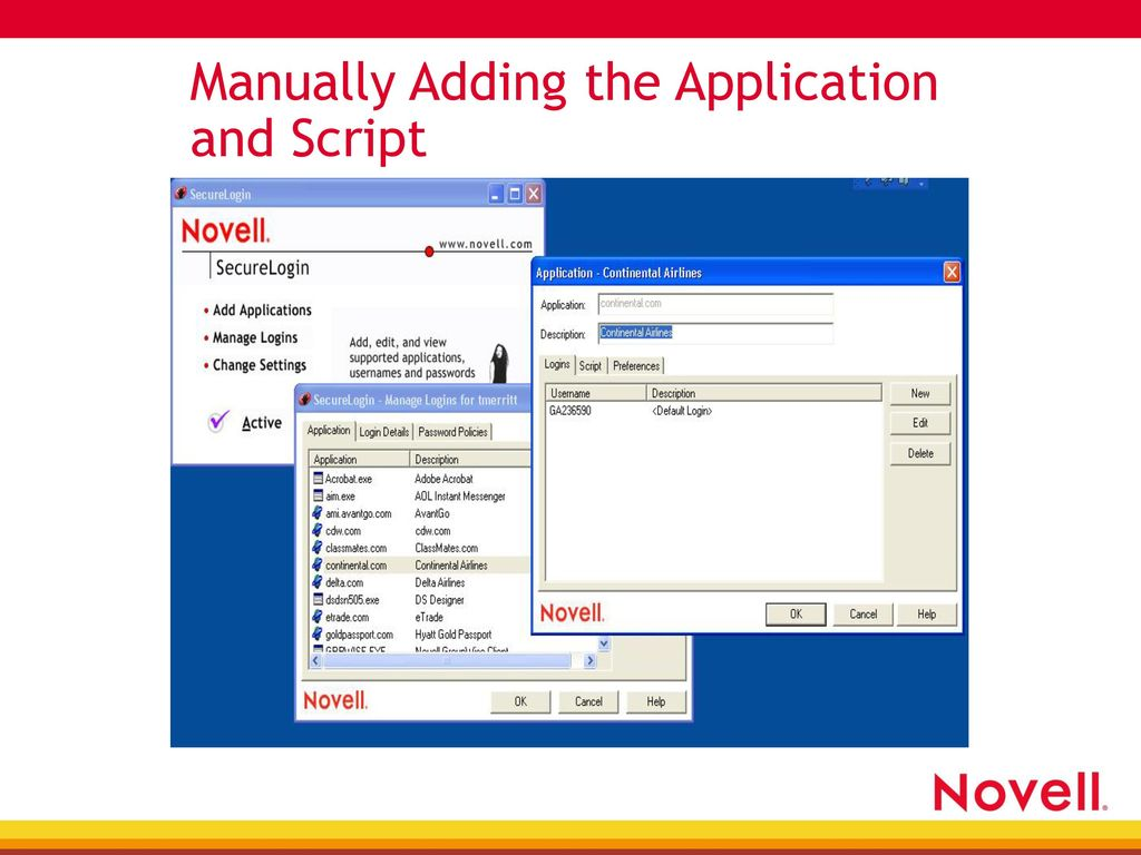 Securing the Net: Web Authentication Using SecureLogin - ppt