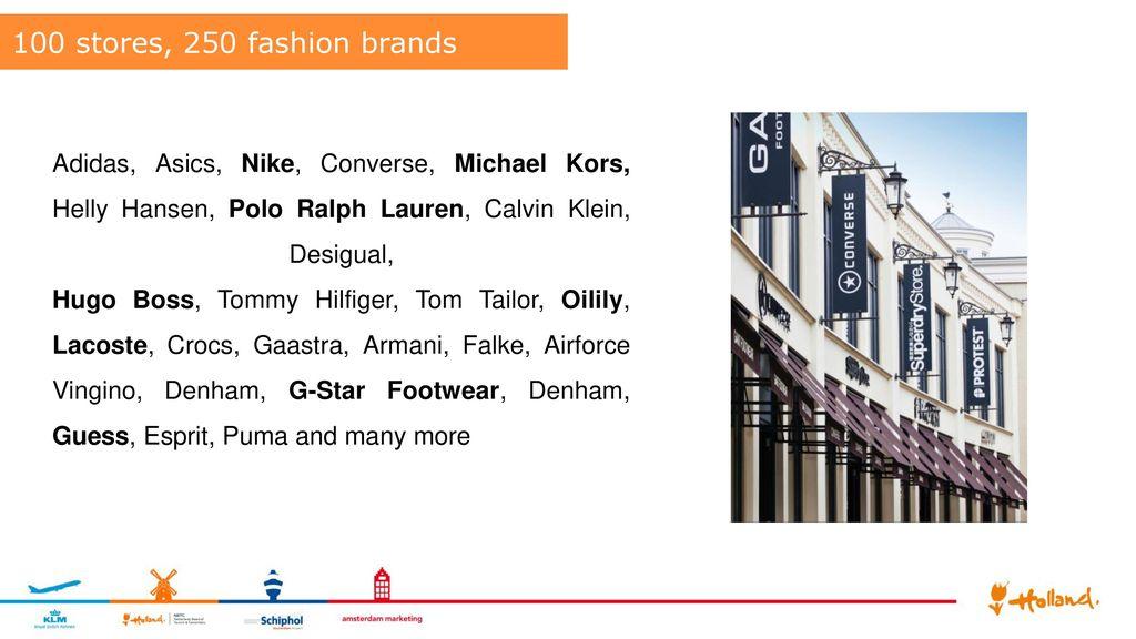 Batavia Stad Fashion Outlet Presentation - ppt download