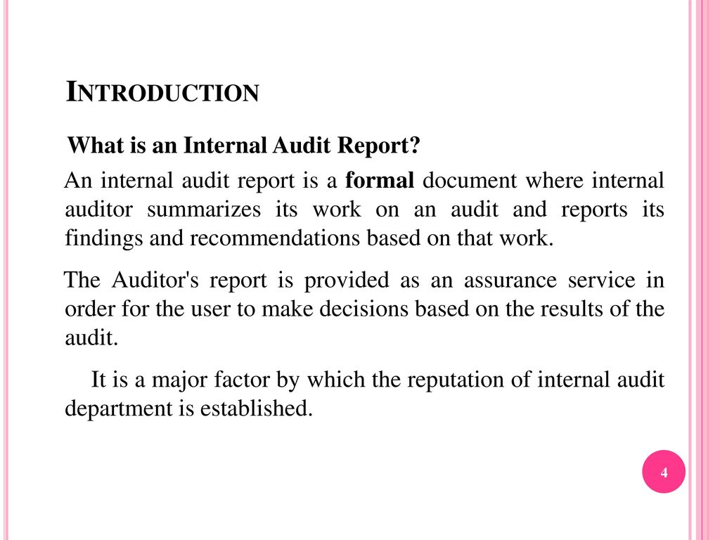 How to do an Internal Audit - ppt download