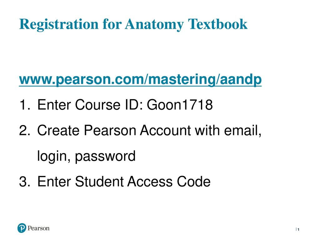 Registration For Anatomy Textbook Ppt Download
