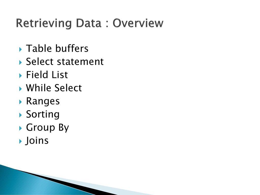 AX 2012 Development Training - ppt download