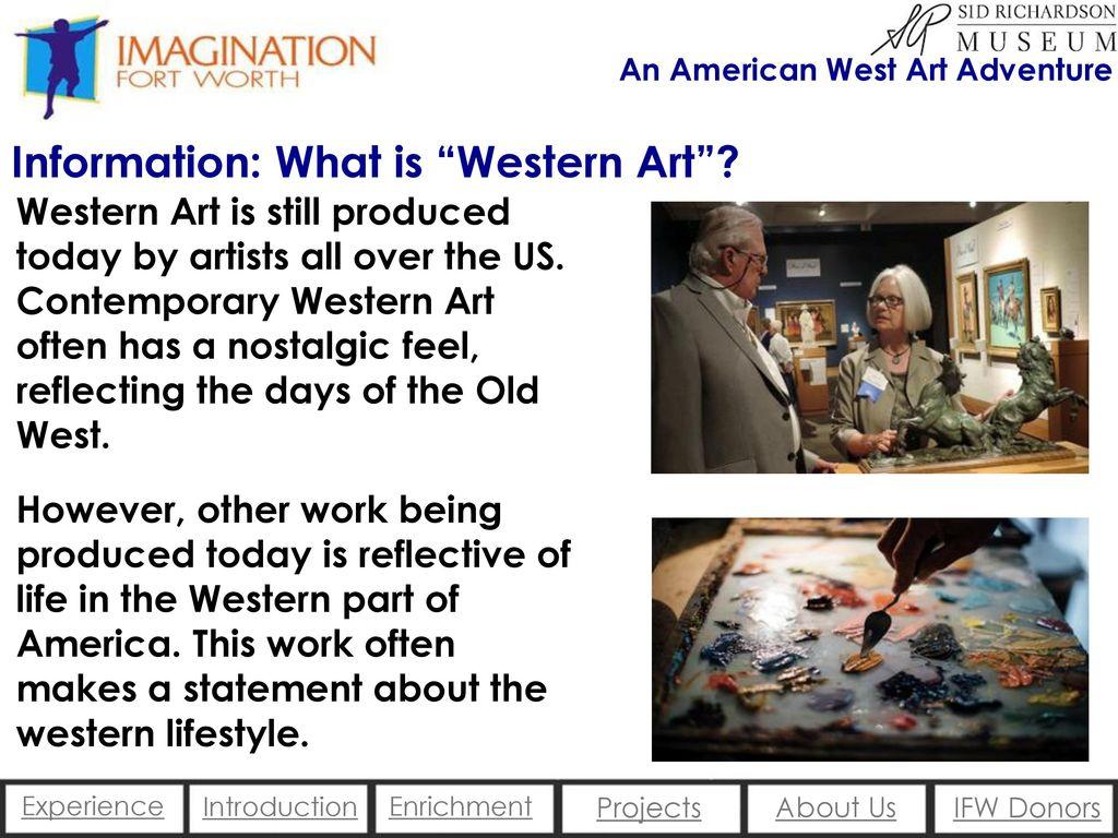 An American West Art Adventure  - ppt download