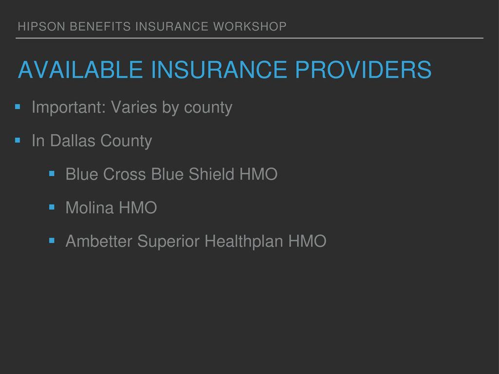 Aba Insurance Workshop Ppt Download