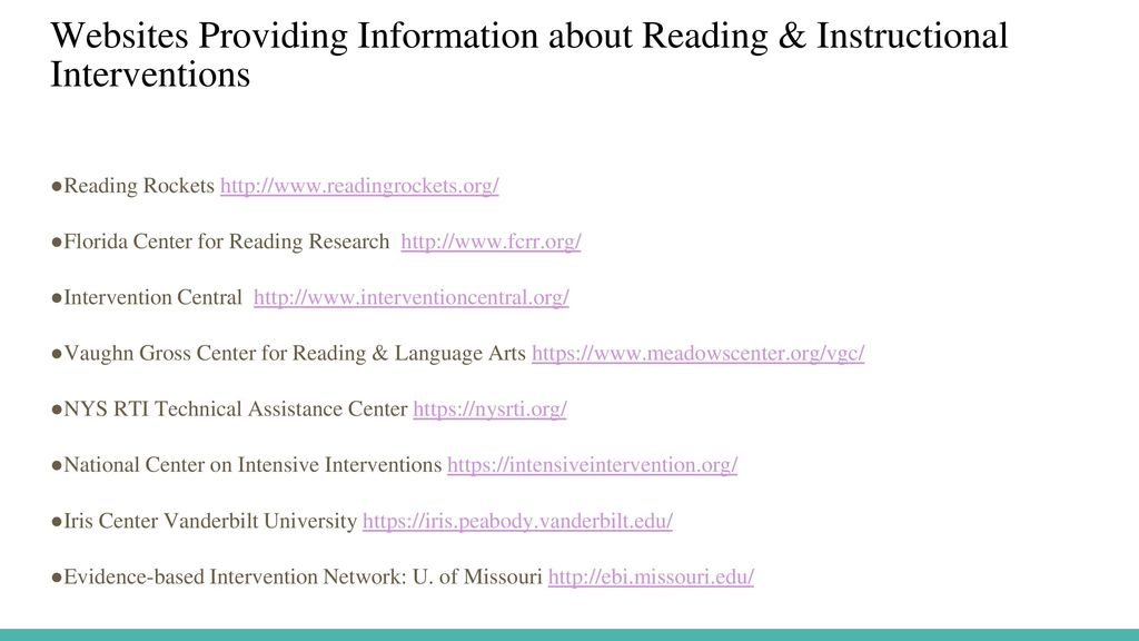 What School Psychologists Need To Know About Reading Instruction And