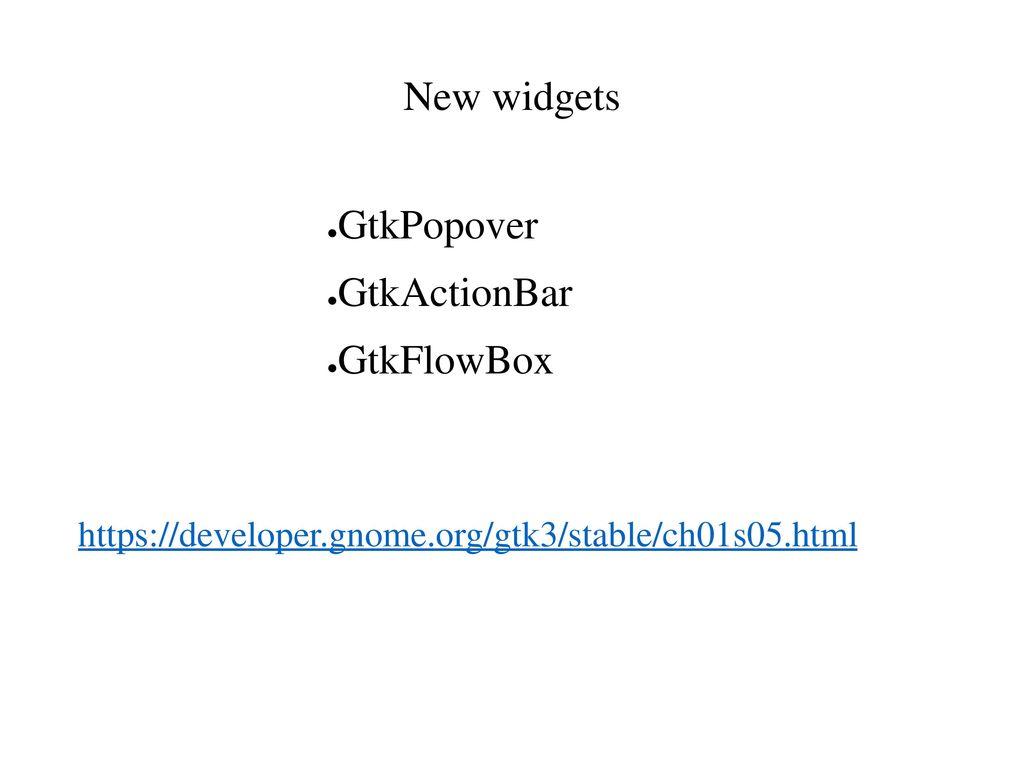 GTK+ for developers Matthias Clasen February 7, ppt download