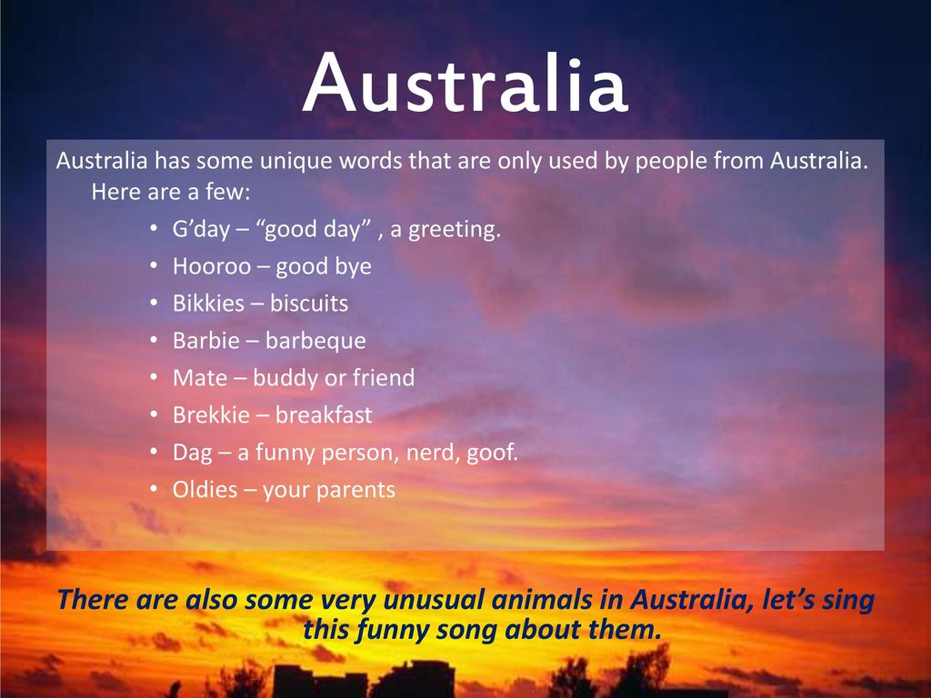 Down Under With Texture Ppt Download