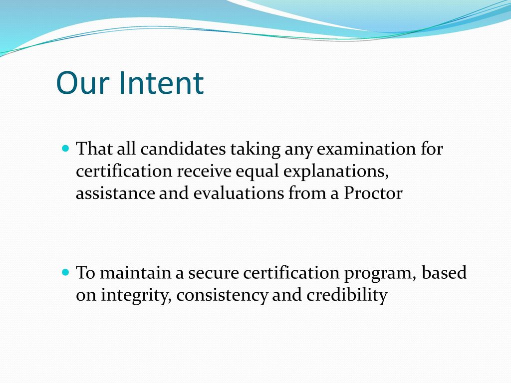 Practical Proctor Class Ppt Download