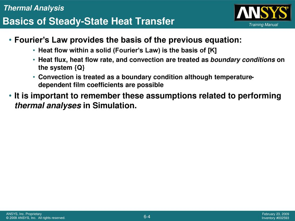 Basics of Steady-State Heat Transfer