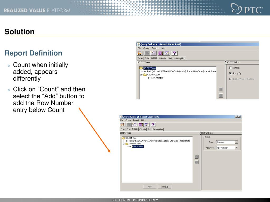 Query Builder ASTRIUM - ASPIRE Pascal Herman Page # of ppt