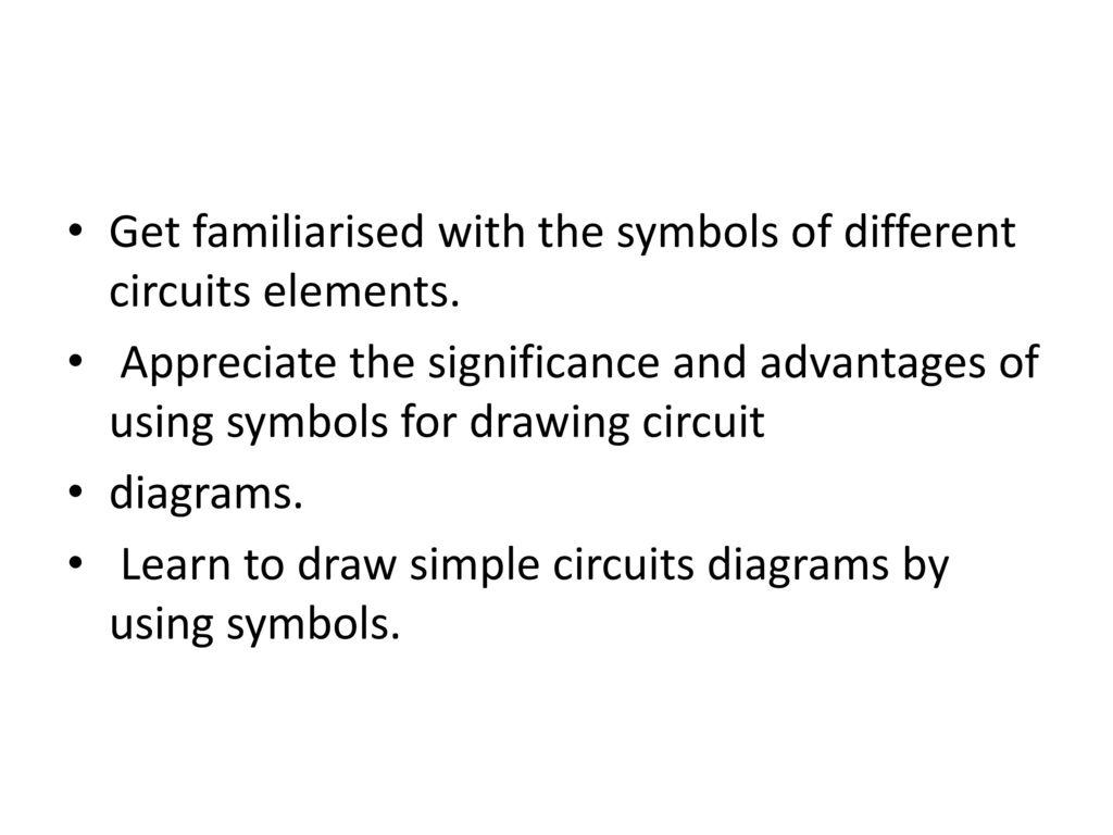 Rayat Shikshan Sansths Sharada Vidya Mandirrahata Ppt Download Draw A Circuit Diagram Get Familiarised With The Symbols Of Different Circuits Elements