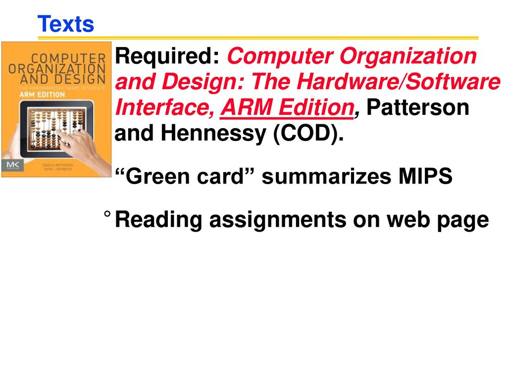 Cosc 3406 Computer Organization Ppt Download