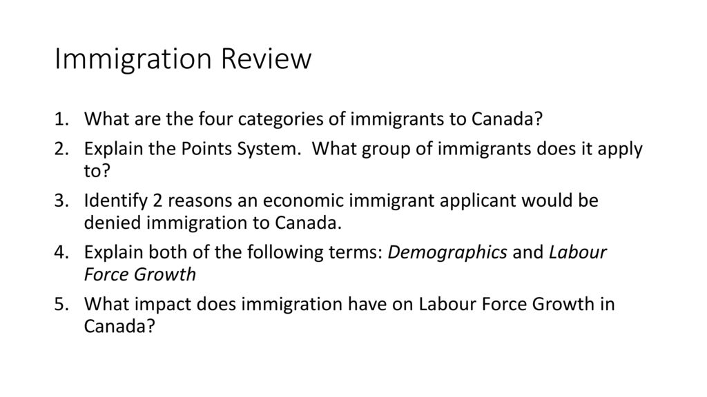 Racist Past, Issues for Canadians, Immigration Legislation - ppt