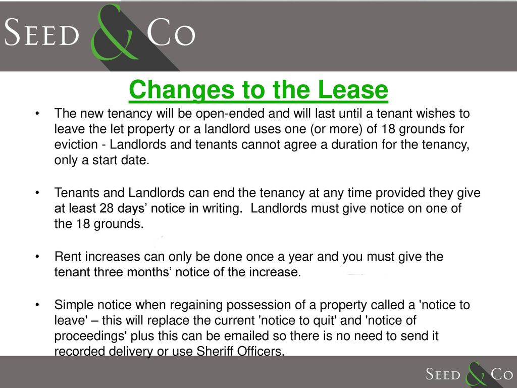 update on scottish changes to the lease cap rules for 2016