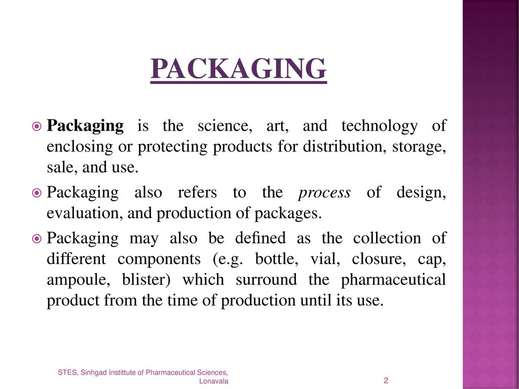 PACKAGING  - ppt download