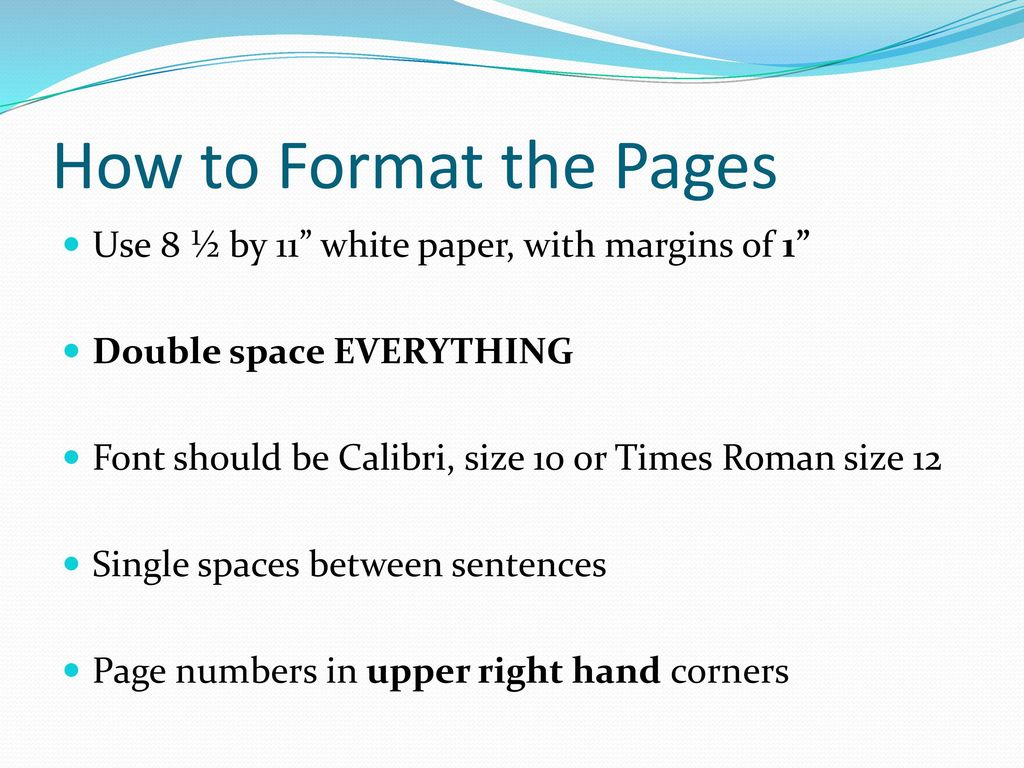 apa style for scientific documents ppt download