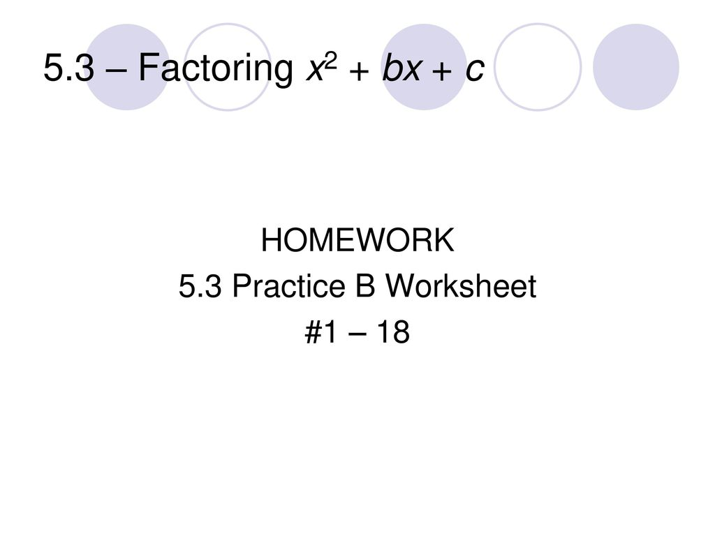 Factoring Polynomials Of The Form Ax2 Bx C Worksheet ✓ How to furthermore Factoring X2 Bx C Worksheet Inspirational Factoring Perfect Square moreover Printables  Factoring X2 Bx C Worksheet  Mywcct Thousands of moreover Factoring X2 Bx C Worksheet Answers   WRITING WORKSHEET besides  besides Factoring X2 Bx C Worksheet Answers   Livinghealthybulletin furthermore worksheet  Factoring Trinomials Of The Form Ax2 Bx C Worksheet in addition Chapter 5 – Quadratic Functions and Factoring   ppt download moreover Alge Worksheet Factoring Polynomials Of The Form X2 Bx C furthermore Easy Factoring Search and Shade   Alge   Pinterest   Math likewise Factoring Trinomials X2 Bx C Worksheet as well 16 Luxury Factoring X2 Bx C Worksheet Answers Collection Wascgroup as well factoring trinomials of the form ax2 bx c worksheet   Erkal furthermore  moreover Factoring Practice Worksheet Answers Fresh Factoring Trinomials Zen moreover Factoring X2 Bx C Worksheet   Proga   Info. on factoring x2 bx c worksheet