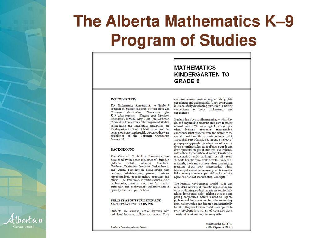 Download Alberta Program Of Studies Math Illustrative ...