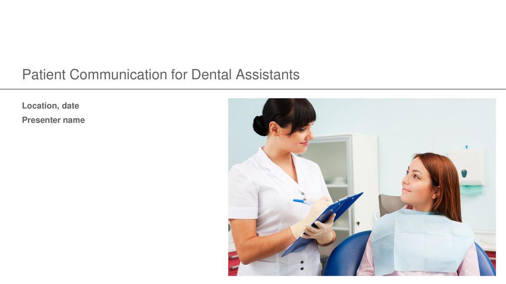 dental assistent dating patient dating i israel tips