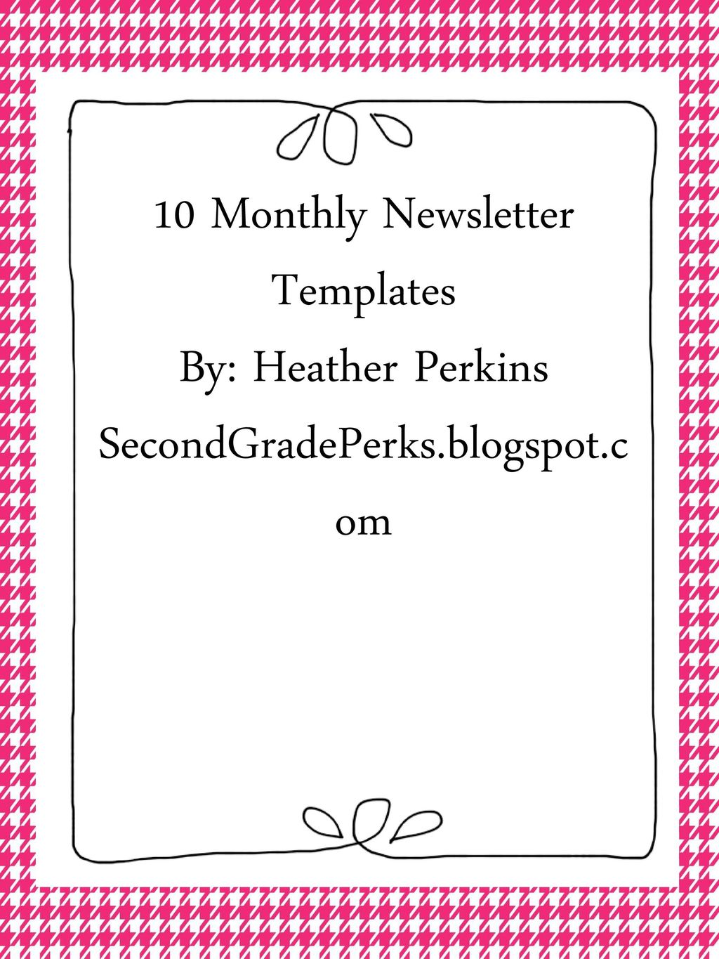 10 monthly newsletter templates ppt download