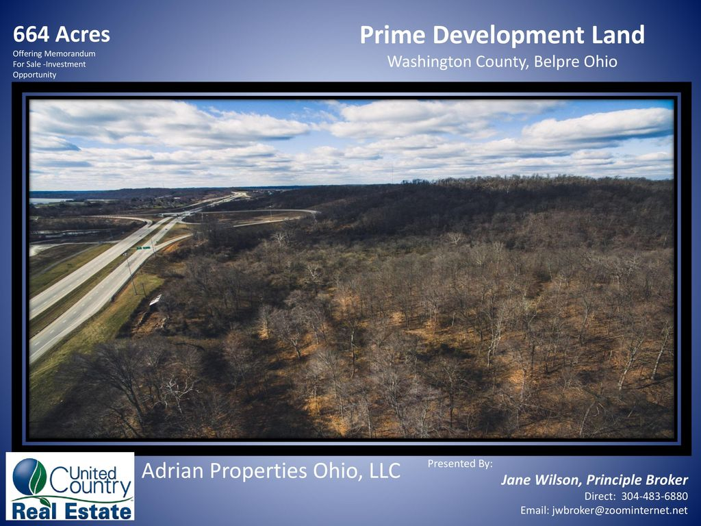 664 Acres Offering Memorandum For Sale -Investment