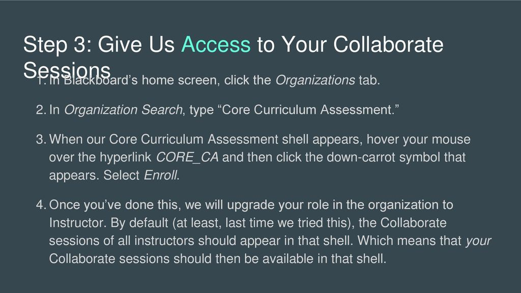 Recording Blackboard Collaborate Sessions Ppt Download