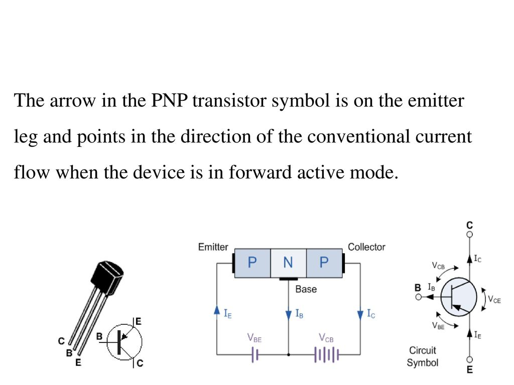 Automatic Emergency Led Light Ppt Download Pnp Transistor Diagram 7 The Arrow In Symbol Is On Emitter Leg And Points Direction Of Conventional Current Flow When Device Forward