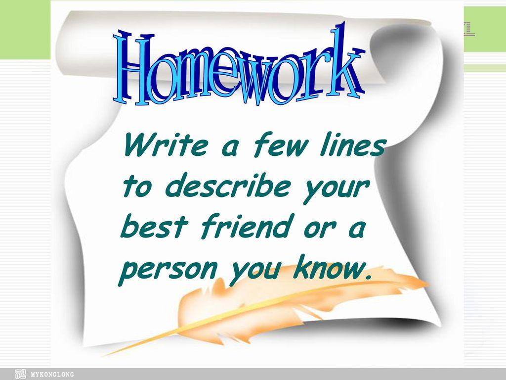Unit 1 Friendship Ppt Download