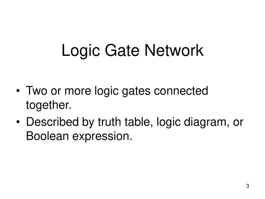 Boolean Algebra And Combinational Logic Ppt Download Diagram Expression 3