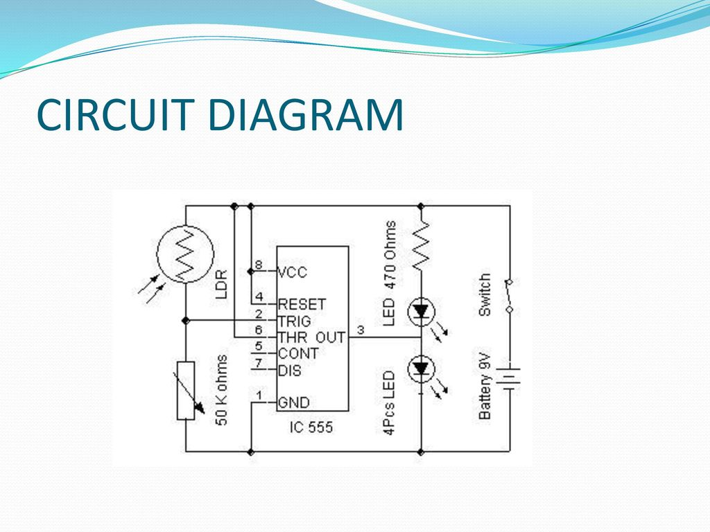 Automatic Streetlight Control Using Ppt Download Circuit Diagram Ldr 7