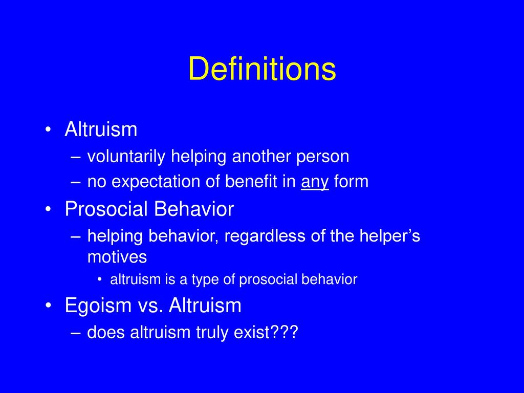 The egoism and altruism essay write a paper