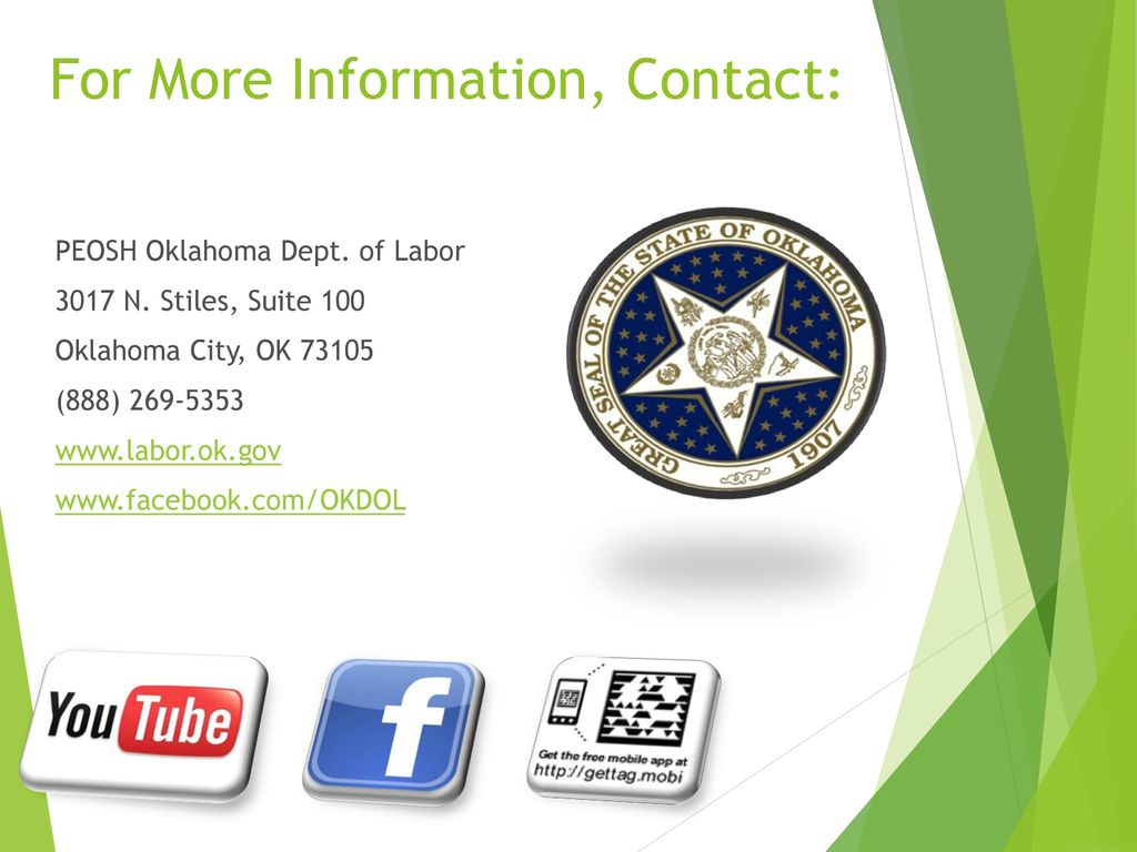 Oklahoma dept of labor