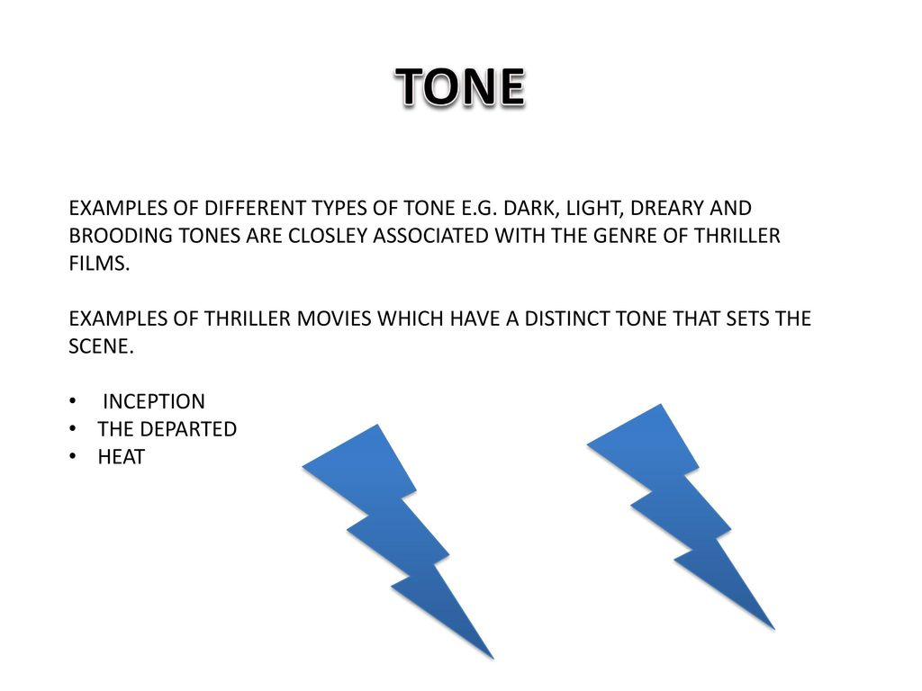 MOOD AND TONE IN THRILLER GENRE - ppt download