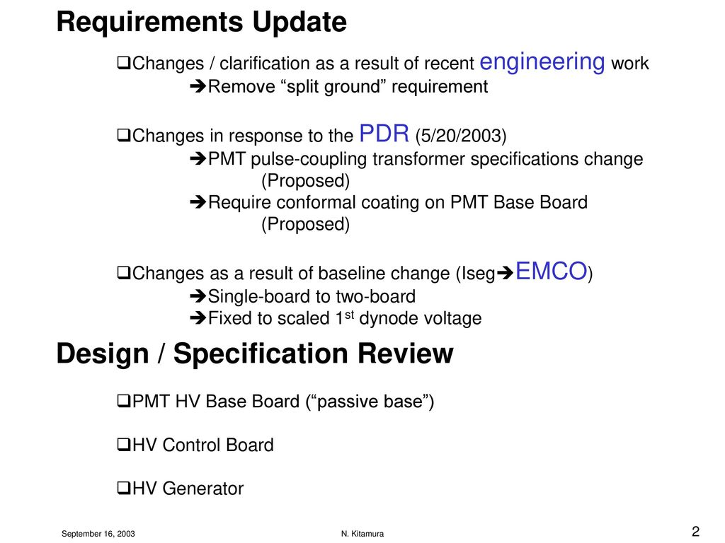 High Voltage Supply Requirements Review Ppt Download Split Generator 2 Design Specification