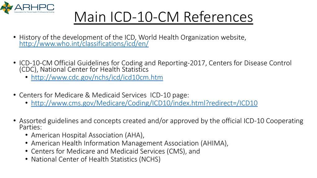 Association for Rural Health Professional Coding (ARHPC