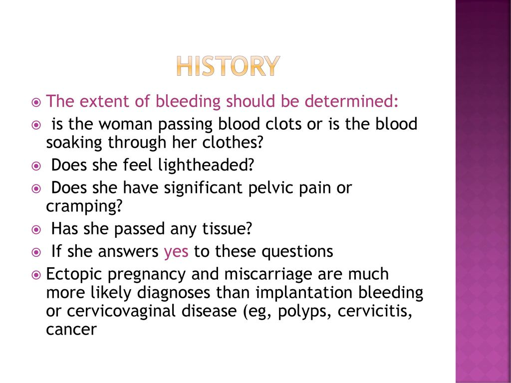 vaginal bleeding in pregnant women - ppt download