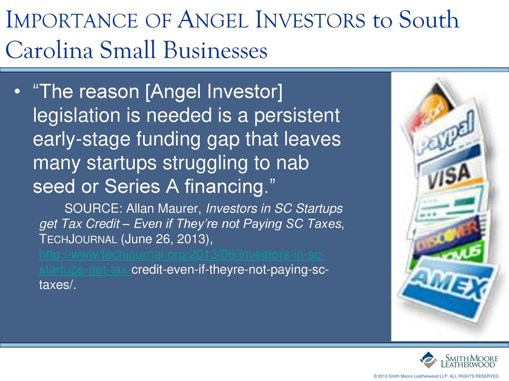 South Carolina Angel Investor Act - ppt download
