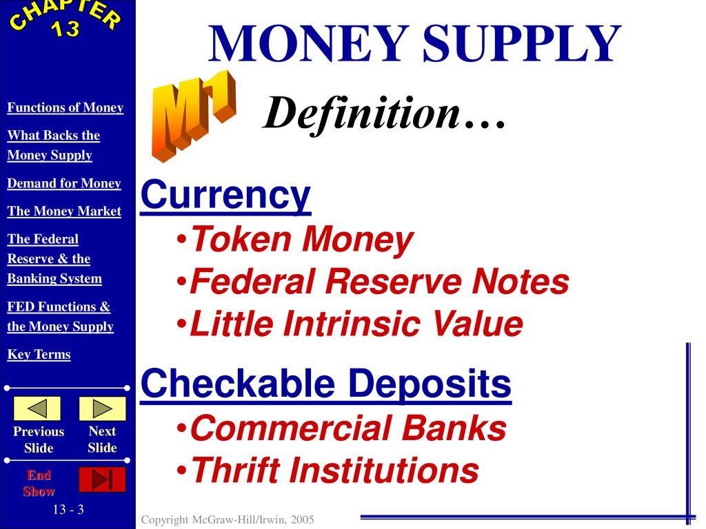 token money definition