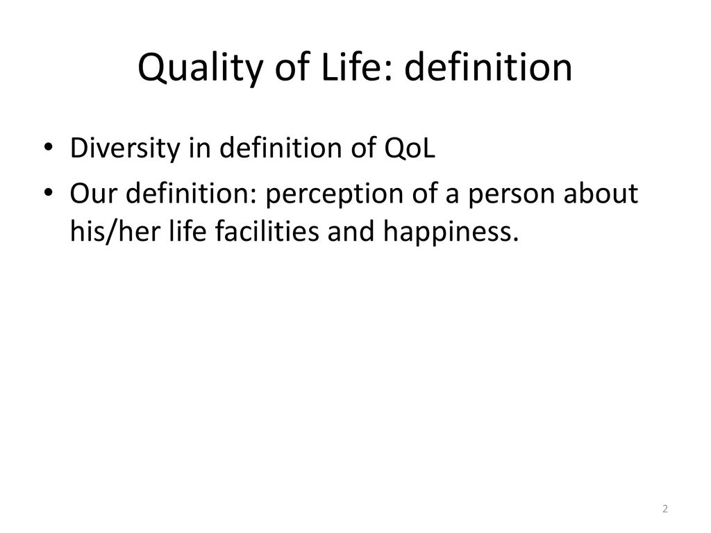 quality of life and social capital in mashhad city in iran - ppt