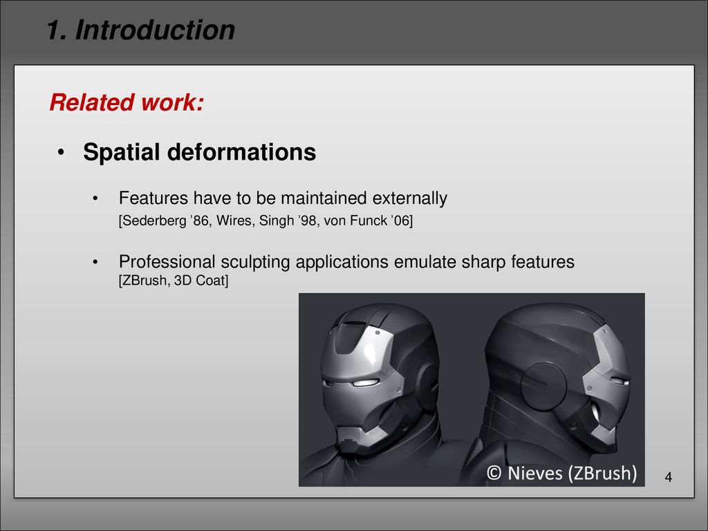 Sculpting multi-dimensional nested structures - ppt download