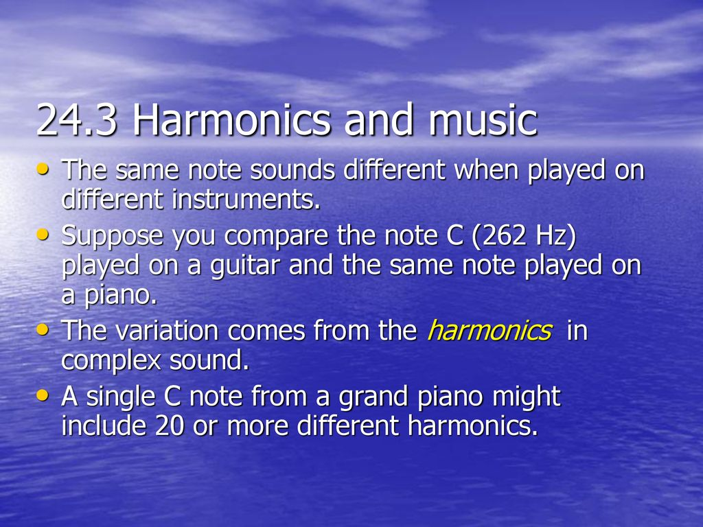 24 3 –Sound , Perception and Music pp - ppt download