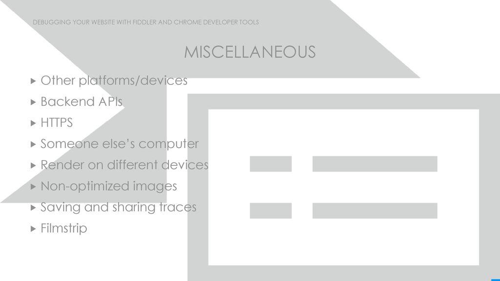 Debugging Your Website with Fiddler and Chrome Developer