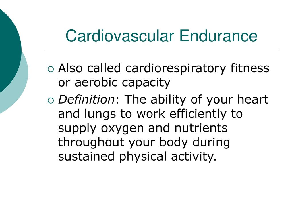 different aspects of fitness - ppt download