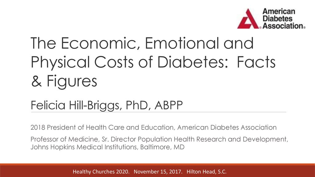 The Economic, Emotional and Physical Costs of Diabetes