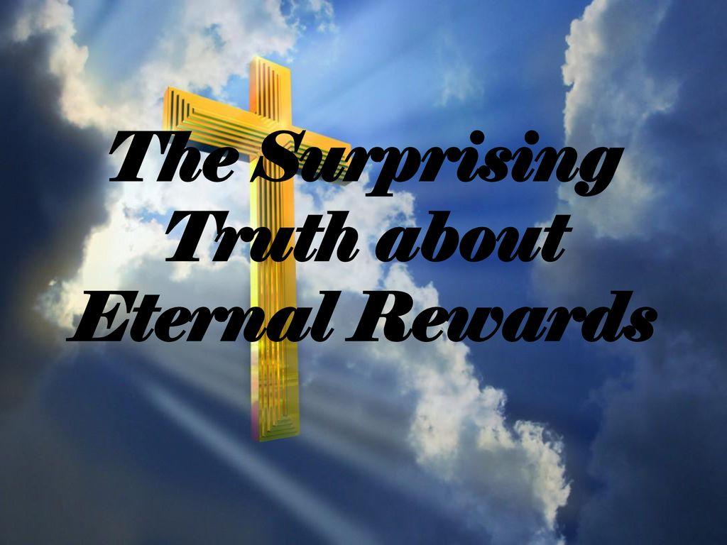 Image result for image of eternal rewards